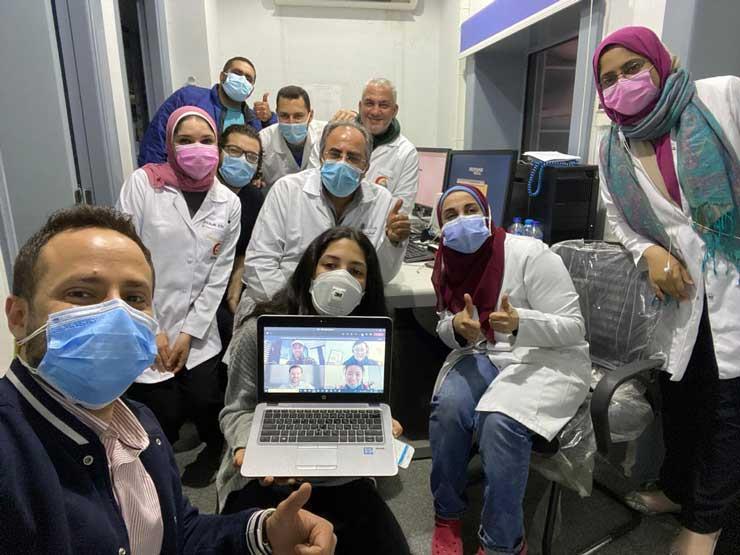 """لأول مرة بالشرق الأوسط.. تشغيل جهاز """"هايفو"""" موجه بالرنين في معهد الكبد"""