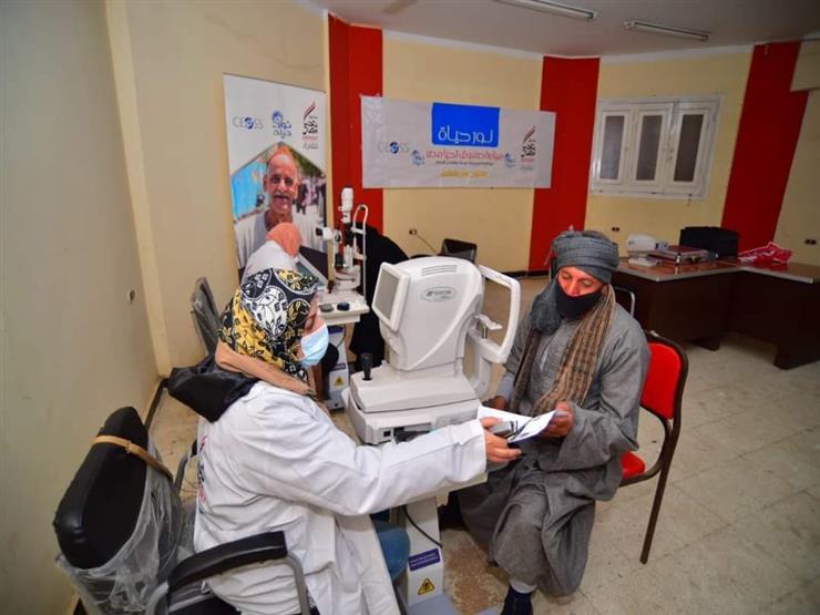"""صندوق تحيا مصر: مبادرة """"نور حياة"""" لمكافحة ضعف وفقدان الإبصار تعمل في 19 محافظة"""
