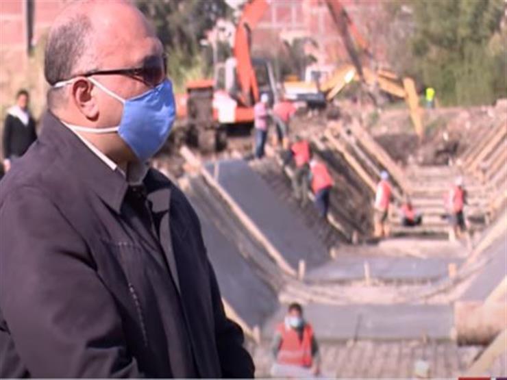 """مدير هندسة """"ري كفر الزيات"""": نستخرج أطنان المخلفات في مشروع تبطين الترع"""