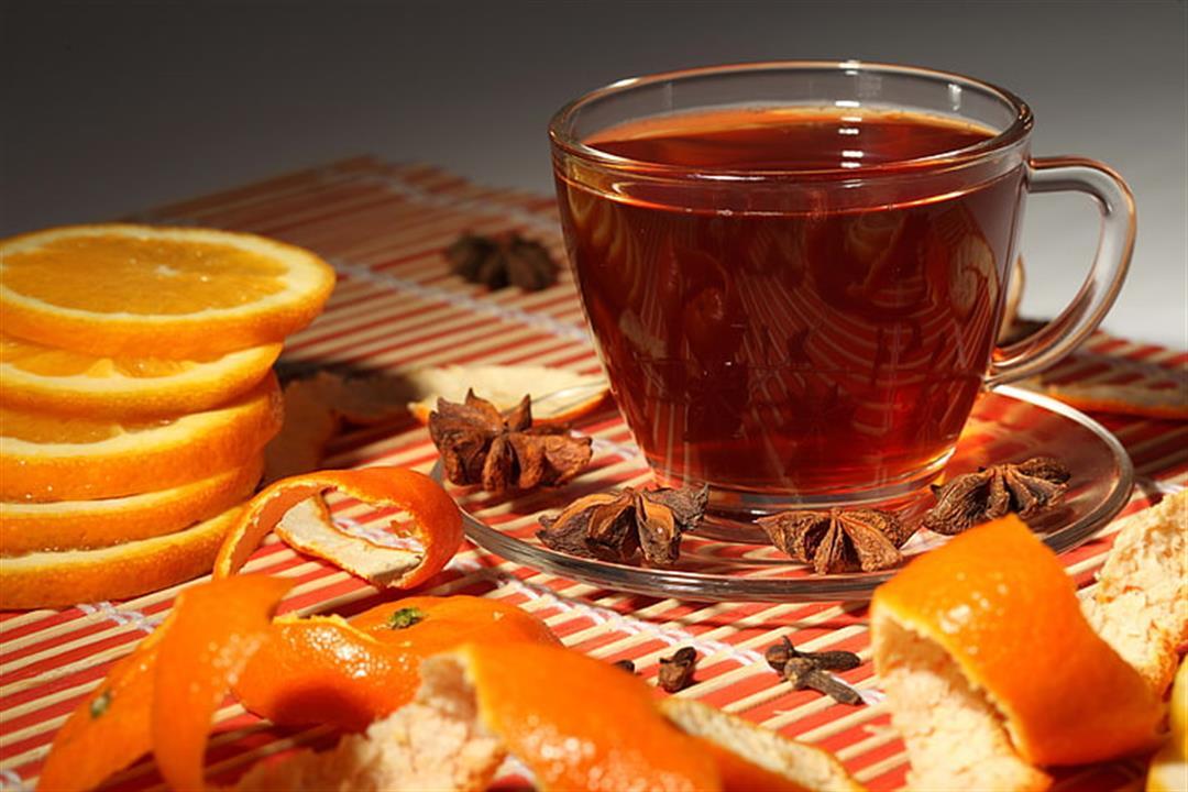 لا تتخلص من قشر البرتقال.. أضفه إلى الشاي واستمتع بفوائده
