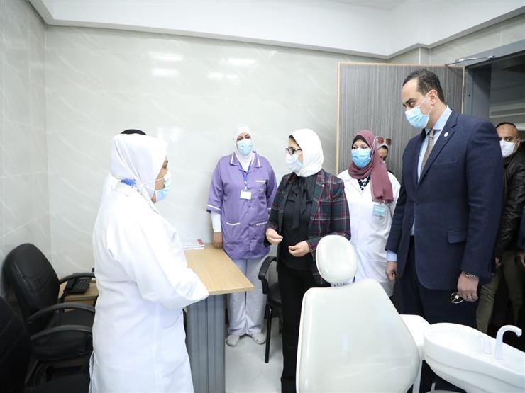"""وزيرة الصحة: ربط وحدات """"التأمين الشامل"""" بالمبادرات الرئاسية في مجال الصحة العامة"""
