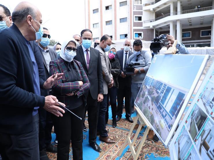 وزيرة الصحة: تسجيل 83% من سكان الإسماعيلية بمنظومة التأمين الصحي الشامل