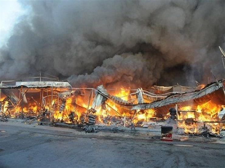 نفوق ٦ آلاف دجاجة في حريق مزرعة بالدقهلية