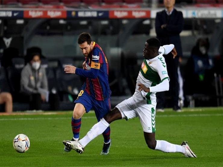 بالفيديو.. برشلونة يكتسح إلتشي بثلاثية ويضغط على الريال في الليجاا
