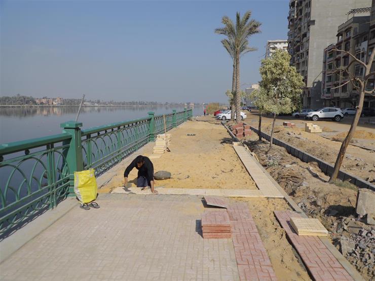 بـ8 ملايين جنيه.. تفاصيل مشروع تطوير كورنيش النيل في دمياط