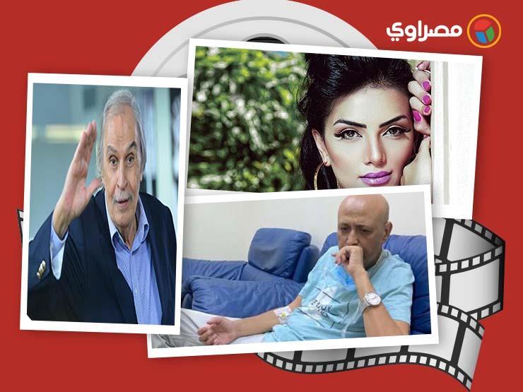 النشرة الفنية| وفاة عزت العلايلي وانهيار إلهام شاهين وسبب غضب جمال يوسف