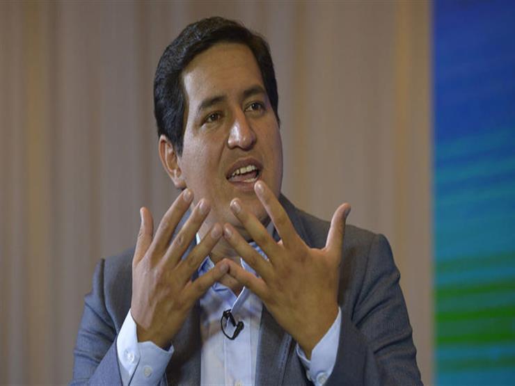 فوز الاشتراكي أراوس في الدورة الأولى من الانتخابات الرئاسية في الإكوادور