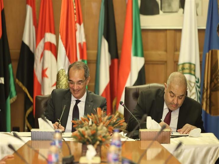 """رئيس """"الدستورية"""" ووزير الاتصالات يوقعان بروتوكول تعاون لاستكمال ميكنة وتطوير منظومة العمل بالمحكمة"""