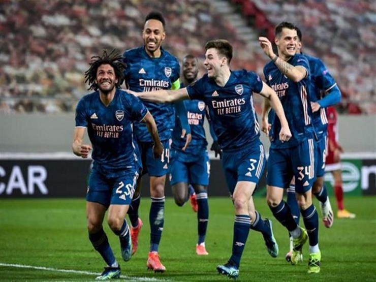 النني يُسهم في تأهل أرسنال إلى نصف نهائي الدوري الأوروبي