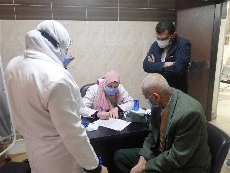 """""""جولة داخل المركز الطبي بطنطا حيث تلقي المواطنين للقاح كورونا …"""""""