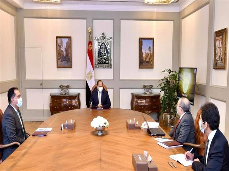 الرئيس السيسي يوجه بالتطوير المتواصل لمصانع الإنتاج الحربى