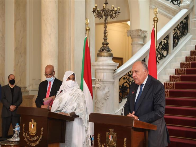وزير الخارجية ونظيرته السودانية يؤكدان عمق العلاقات الثنائية