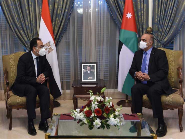 رئيس الوزراء المصري ونظيره الأردني يتفقان على مضاعفة التبادل التجاري
