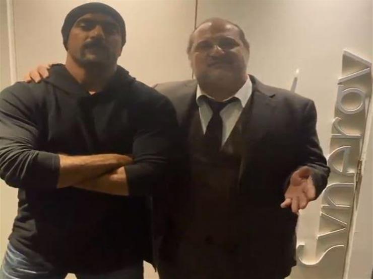 """خالد الصاوي: """"مبسوط بأحمد العوضي والشغل اللي هنعمله في (اللي مالوش كبير)"""""""