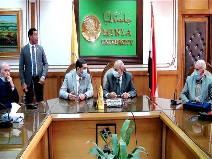 """بمشاركة 9 كليات.. بروتوكول تعاون بين جامعة المنيا و""""هيئة محو الأمية"""""""