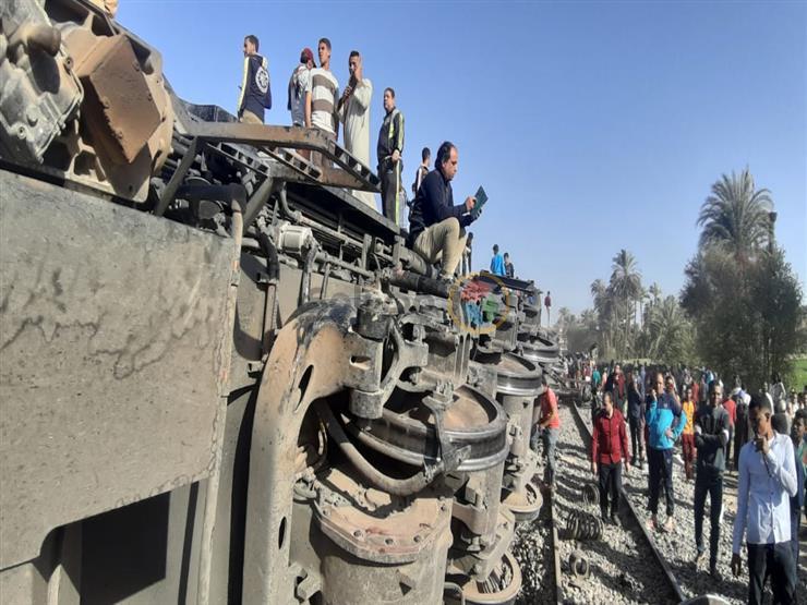 رئيس جامعة سوهاج: استقرار حالة 20 مصاب في حادث القطار عدا حالتين فقط