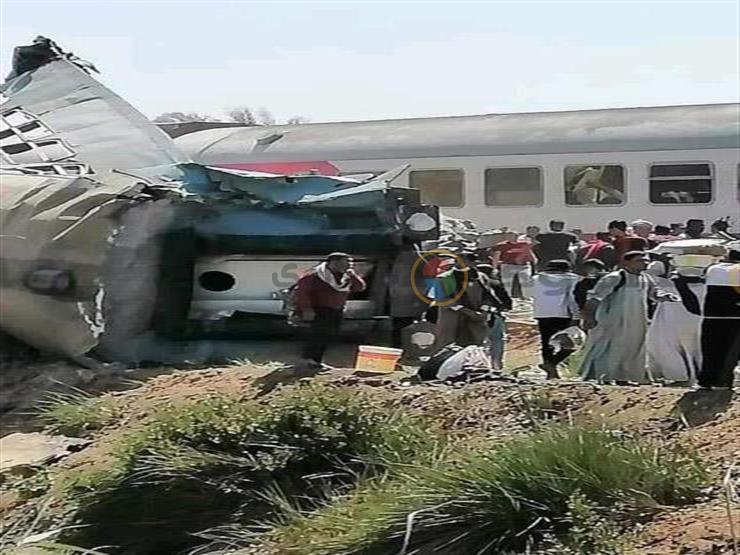 حادث قطاري سوهاج.. 7 قرارات من النيابة العامة للوصول إلى الأسباب