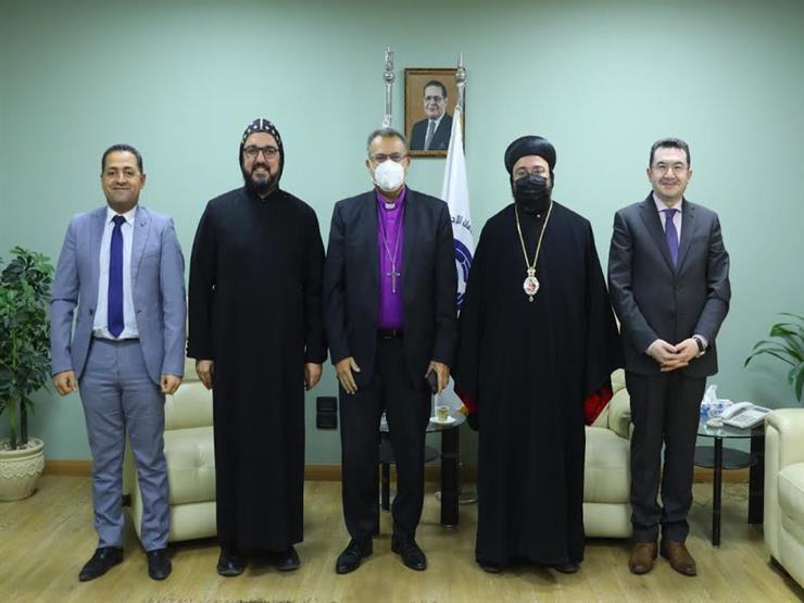 رئيس الإنجيلية يستقبل النائب البطريركي للسريان لمناقشة قانون الأحوال الشخصية