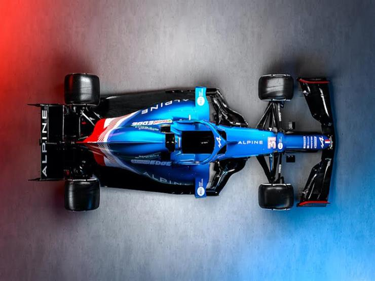 فورمولا-1: البين يكشف عن سيارته الجديدة لموسم 2021