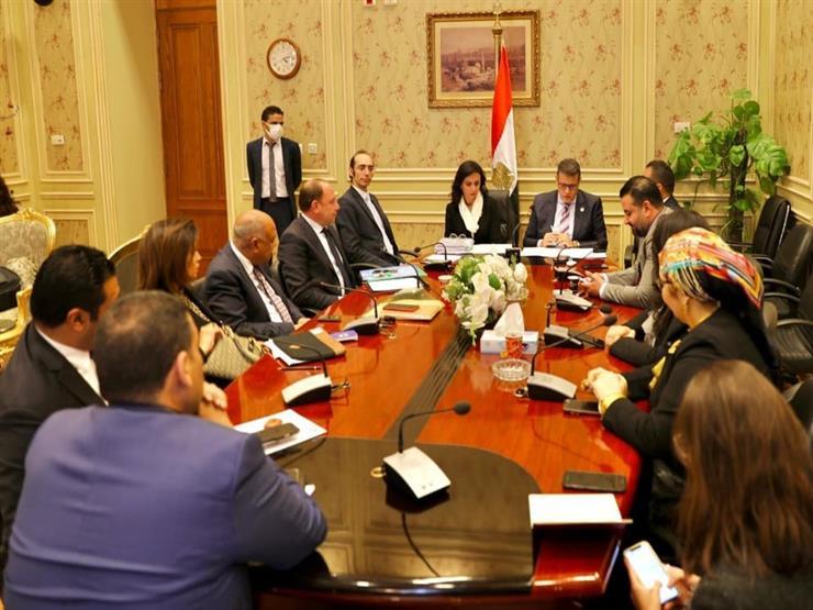 """مايا مرسي تستعرض إنجازات وخطة عمل """"قومي المرأة"""" أمام """"حقوق إنسان النواب"""""""