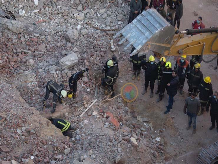 دينا عبدالكريم: تخصيص شقة لكل متضرر من انهيار عقار جسر السويس