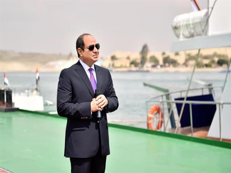 أسامة ربيع: السيسي وجهني بشراء أكبر المعدات لدعم قدرات قناة السويس