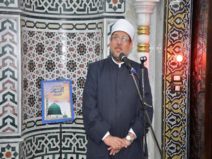 وزارة الأوقاف تحتفل بليلة النصف من شعبان في مسجد السيدة نفيسة (بث مباشر)
