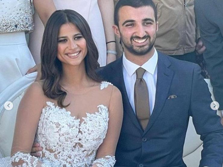 فيديو.. رقص دينا داش في حفل زفافها