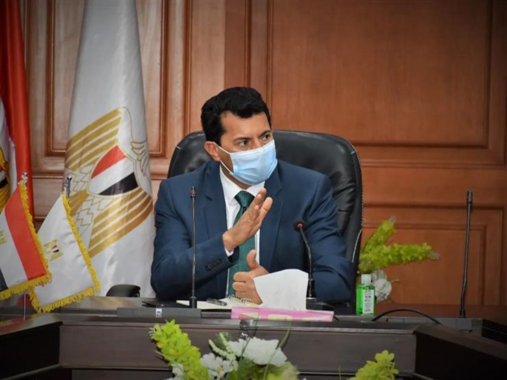 وزير الشباب والرياضة يشهد توقيع بروتوكول التعاون مع بنك مصر