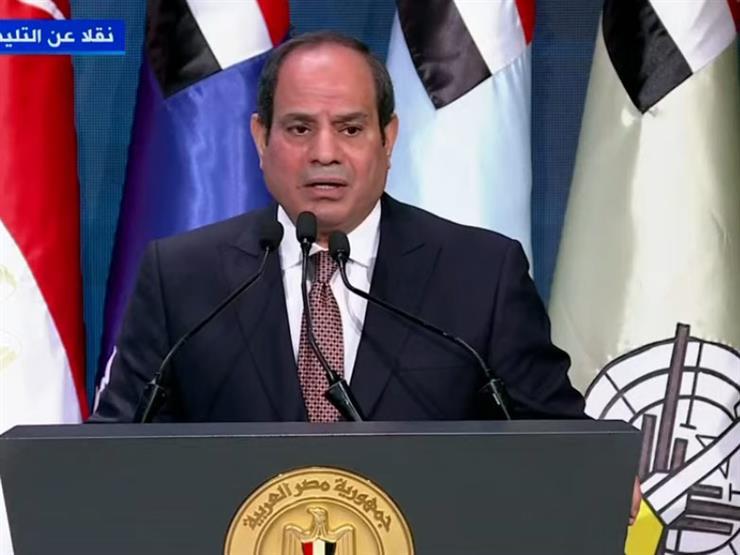 السيسي: إعلان جمهورية جديدة بافتتاح العاصمة الإدارية