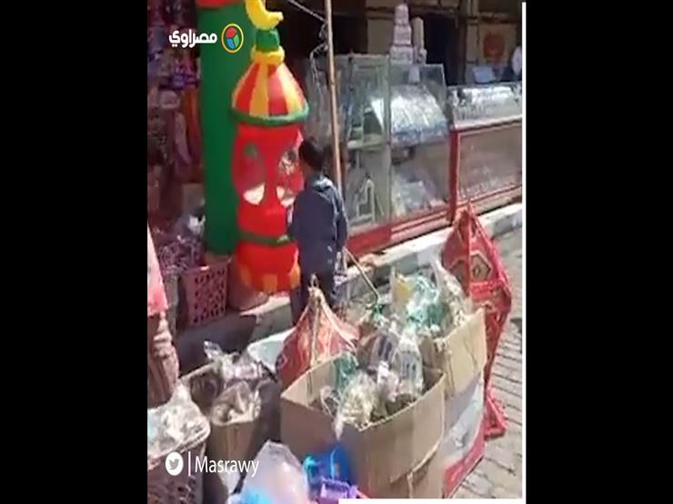"""""""سوق الفوانيس بطنطا يستقبل شهر رمضان"""""""