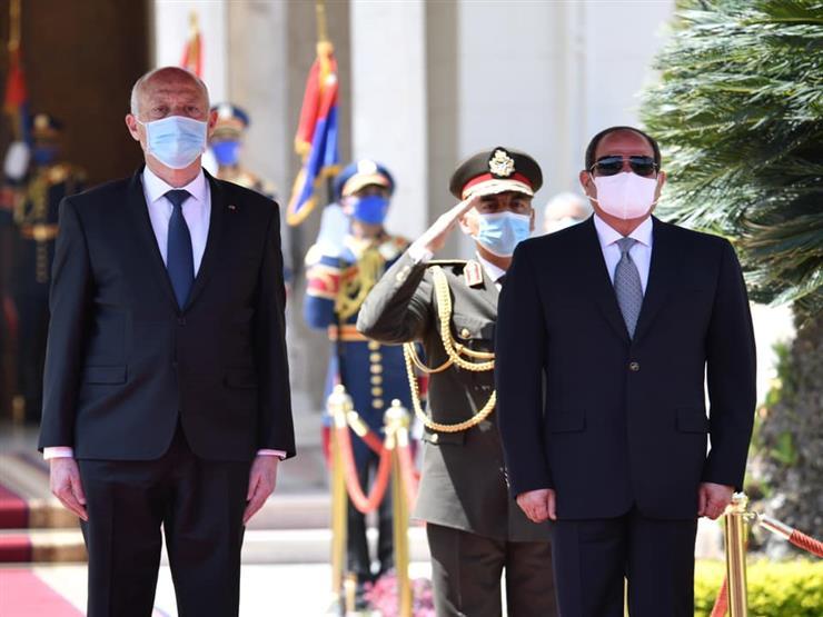 السيسي: زيارة قيس سعيد إلى مصر تؤكد عمق العلاقات بين البلدين