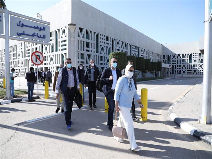 وزيرة الصحة تصل الأقصر لبدء زيارتها الميدانية بعدد من محافظات الصعيد