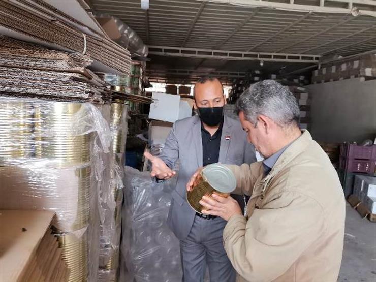 ضبط 6 أطنان زيتون فاسد داخل مصنع في الشرقية