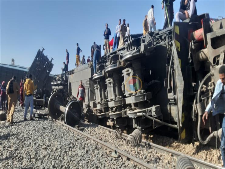 """تحقيقات تصادم قطاري سوهاج: مراقب برج تعاطى """"حشيش"""" ومساعد سائق """"ترامادول"""""""