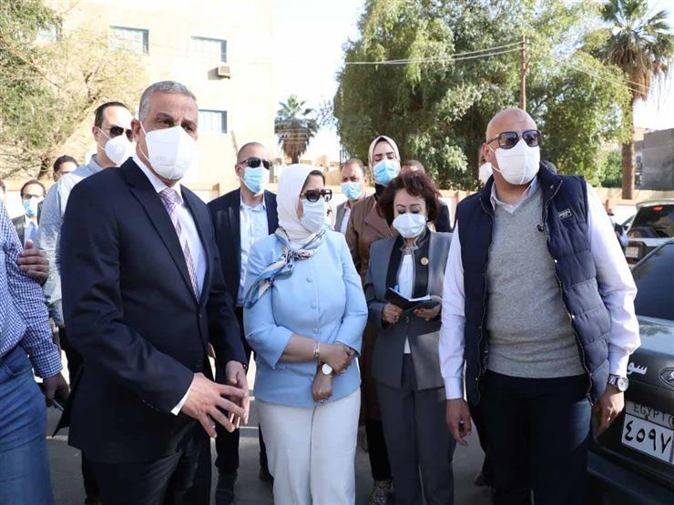 وزيرة الصحة توجه رسالة لأهالي الصعيد بشأن لقاحات كورونا