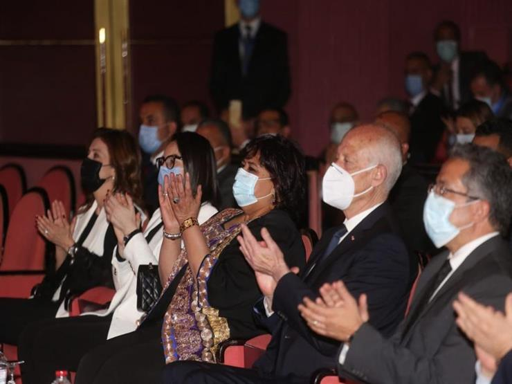 وزيرة الثقافة: الرئيس التونسي كان سعيدا بتواجده لأول مرة داخل دار الأوبرا