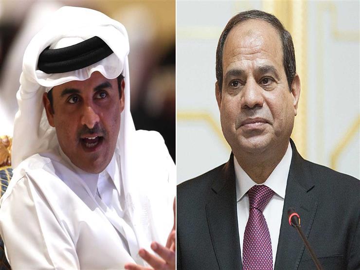 الرئيس السيسي وأمير قطر يتبادلان هاتفيًا التهنئة بعيد الفطر