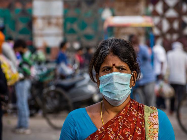 الهند تحتل المركز الثاني بعد أمريكا بالنسبة لحالات الاصابة بفيروس كورونا