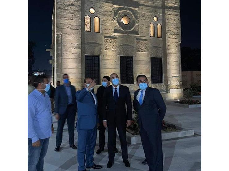 وزير الإسكان يتفقد المرحلة الأولى من محور الفردوس الحر بمحافظة القاهرة بعد تشغيله تجريبيا
