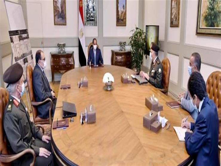 الرئيس السيسي يوجه بتطوير وتوسعة محور كوبري ٦ أكتوبر والطرق السطحية أسفله