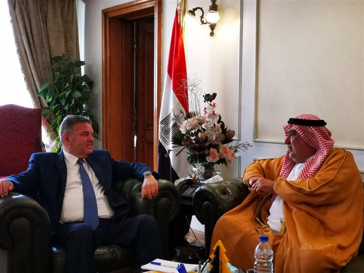وزير قطاع الأعمال يبحث فرص التعاون مع رئيس الاتحاد العربي للتطوير العقاري