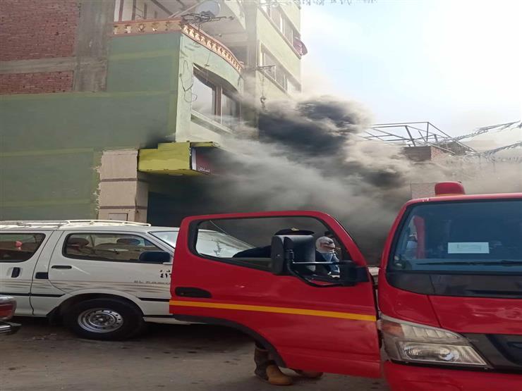 السيطرة على حريق بمخزن للقطن في السويس وإصابة شخصين