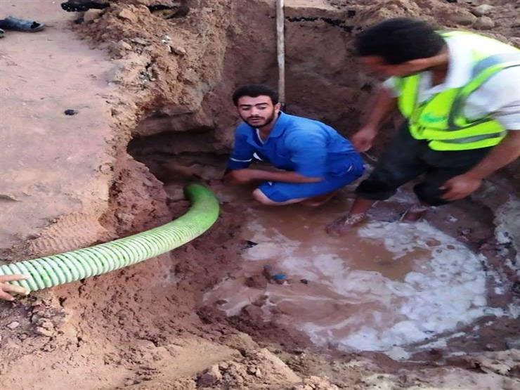 كسر بالخط الرئيسي وراء ضعف مياه الشرب بمدن خليج السويس في جنوب سيناء