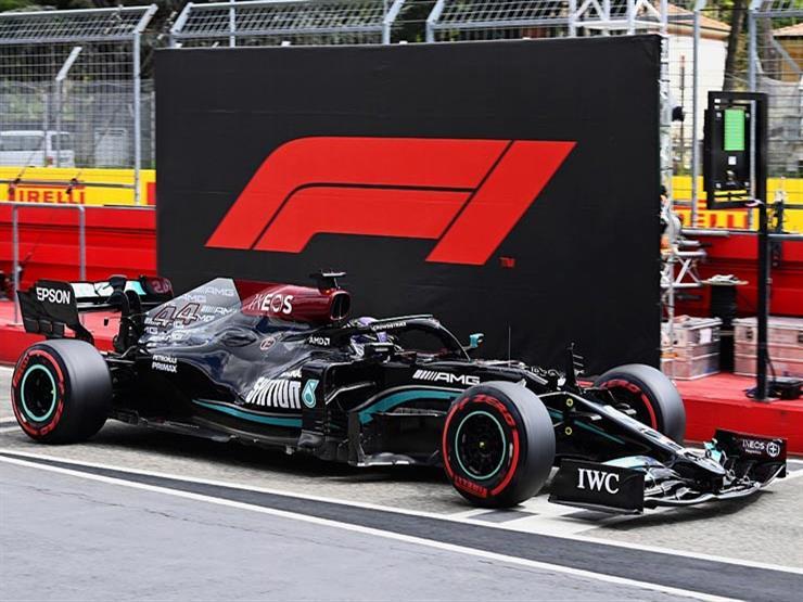 هاميلتون يحسم انطلاقه من المركز الأول في سباق جائزة إميليا رومانيا لفورمولا-1