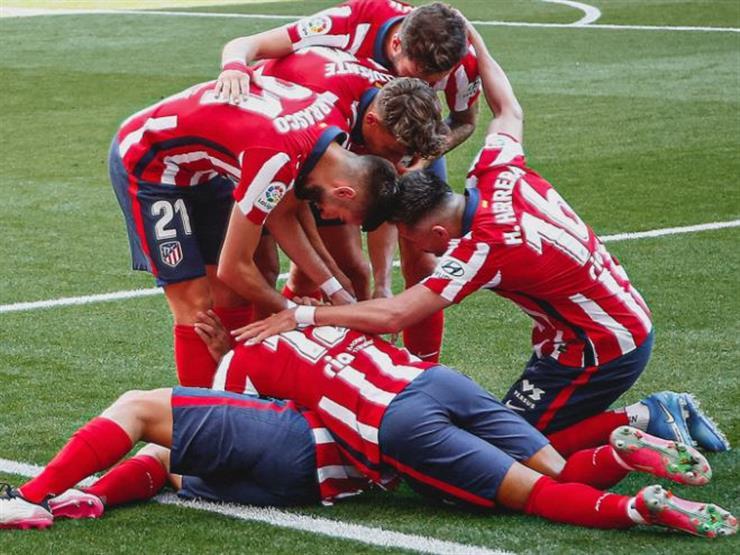 أتلتيكو مدريد يكتسح إيبار بخماسية في الليجا
