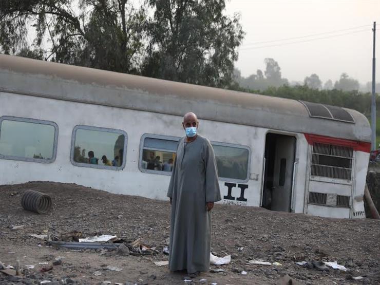 أعمال صيانة موقع حادث قطار طوخ في حضور كامل الوزير