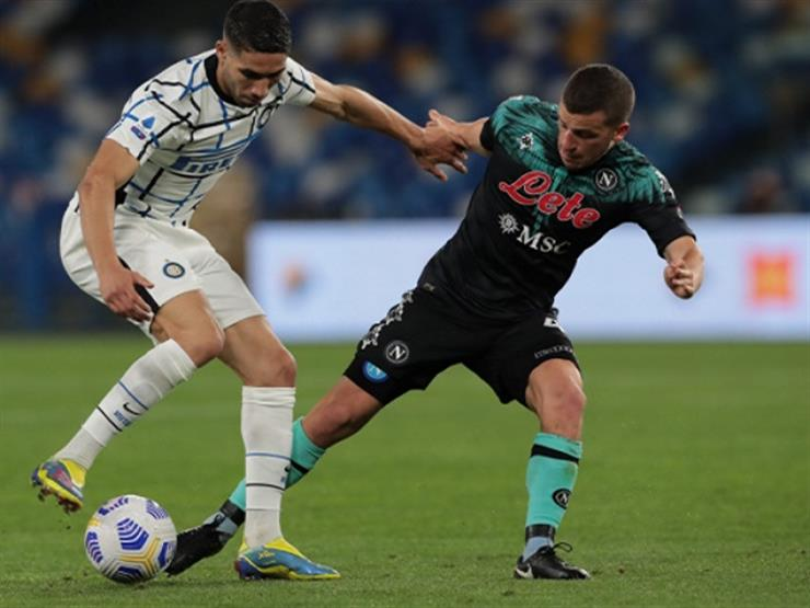 التعادل الإيجابي يُحسم موقعة انتر ونابولي في الدوري الإيطالي