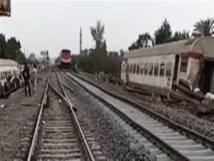 عودة حركة القطارات في الاتجاهين بمنطقة حادث قطار طوخ