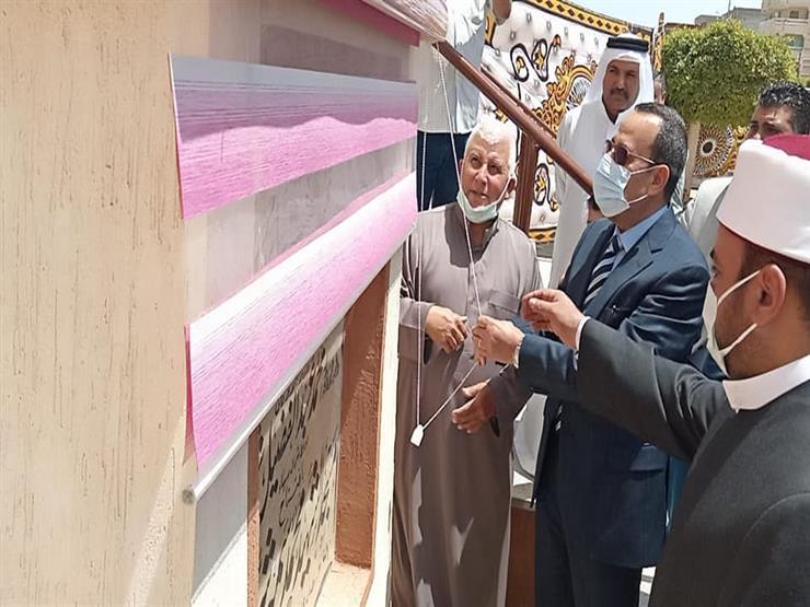 افتتاح مسجد الشهيد محمد شراب في شمال سيناء